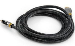 HDMI - HDMI кабель с золотым 24K напылением в оплетке 3 метра Linoya