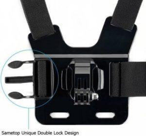 Крепление на грудь для экшн камеры