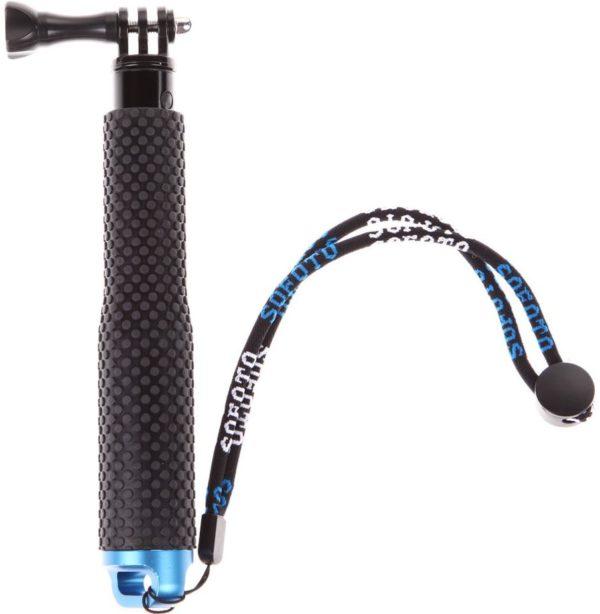 Монопод селфи палка для экшн камеры с эргономичной рукояткой