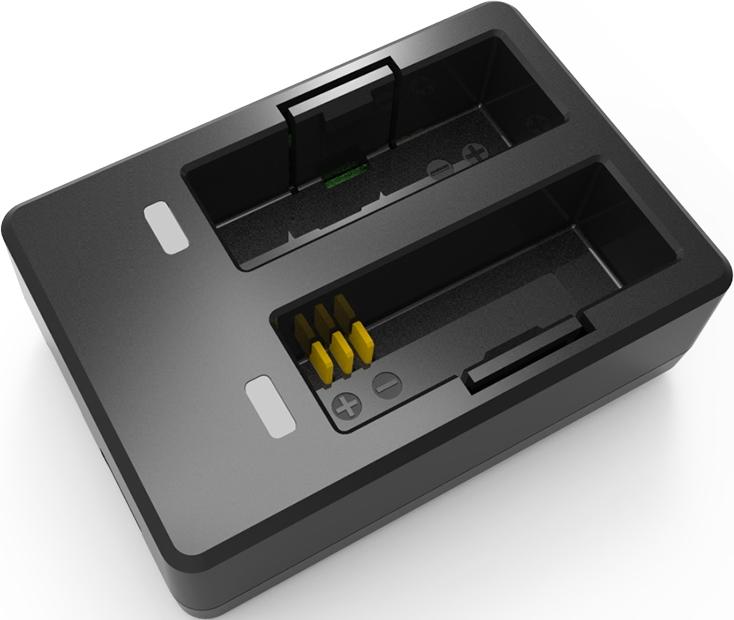 Зарядное устройство на 2 аккумулятора экшн камеры SJCAM SJ7 STAR
