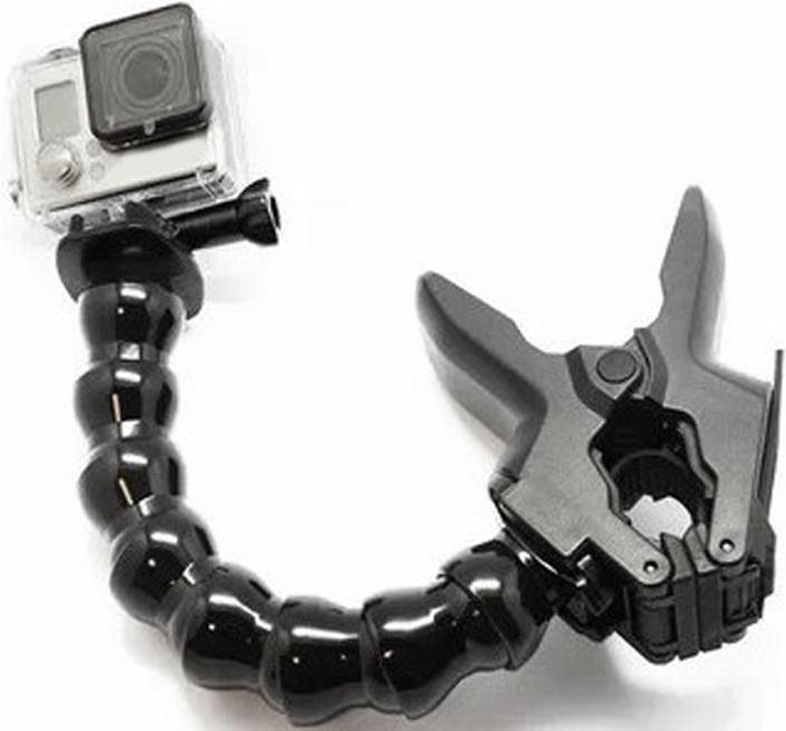 Гибкий монопод с зажимом Jaws Flex Clamp